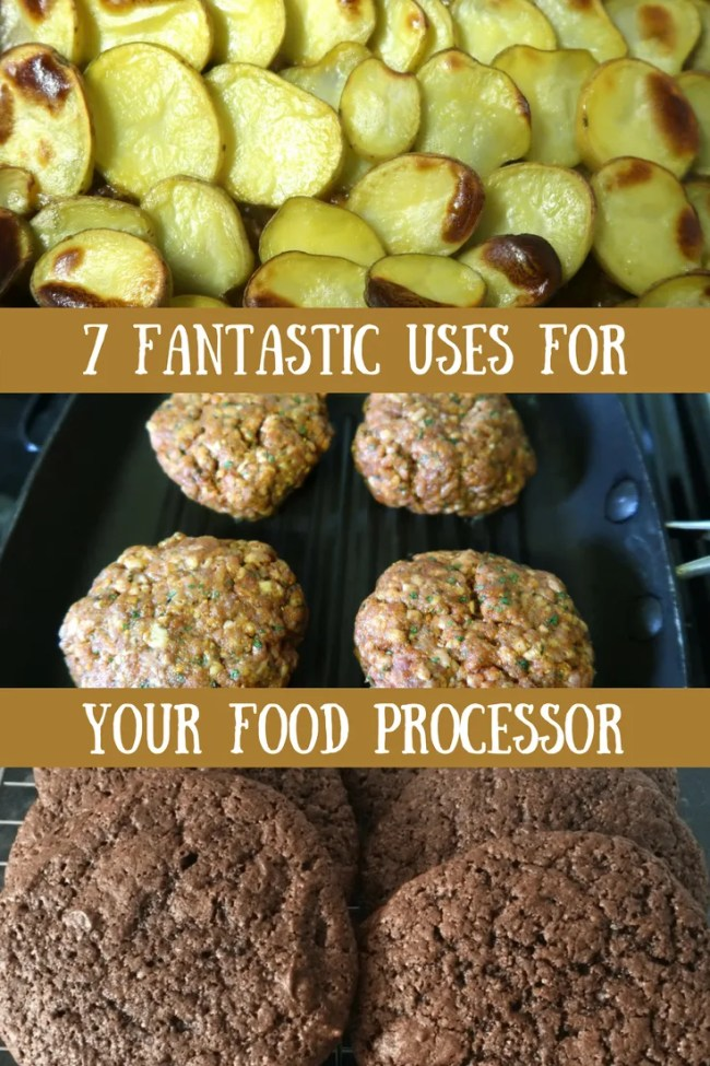 (AD) 7 great uses for your food processor. Pizza dough, burgers, pasta sauce, grating food, sauces and much more. Frugal recipes, cheap eats, simple cooking