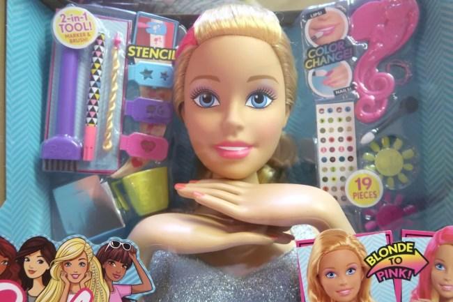 Barbie Flip Reveal Styling Head