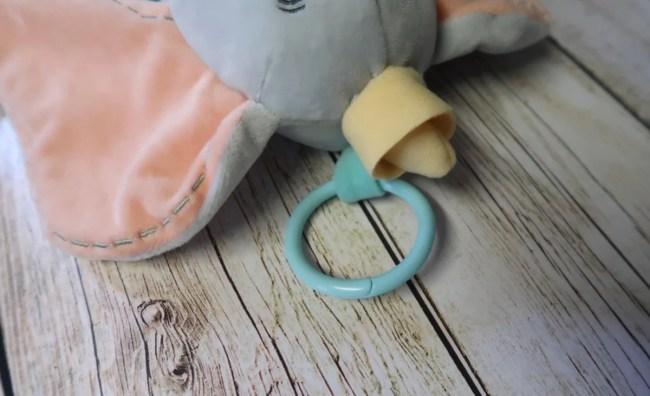 Disney Baby Dumbo Activity Plush - Clip