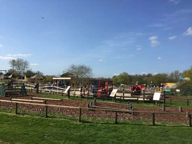 One of the activity areas at Willow's Farm