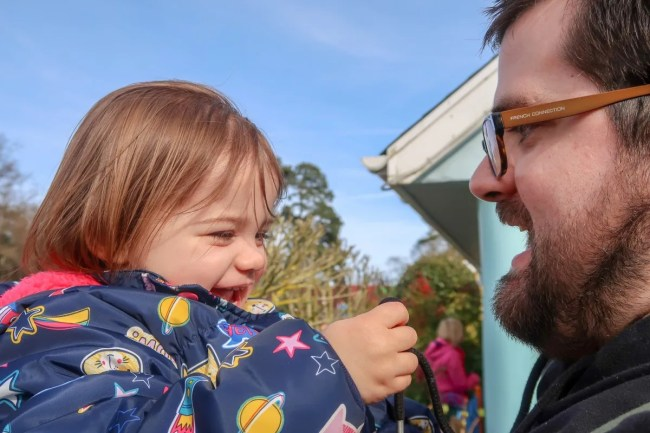 A family trip to Peppa Pig World