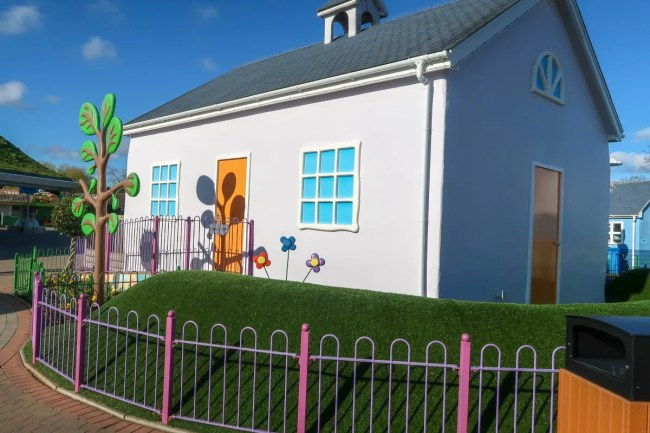Character houses at Peppa Pig World