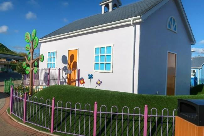 Character houses at Peppa Pig World