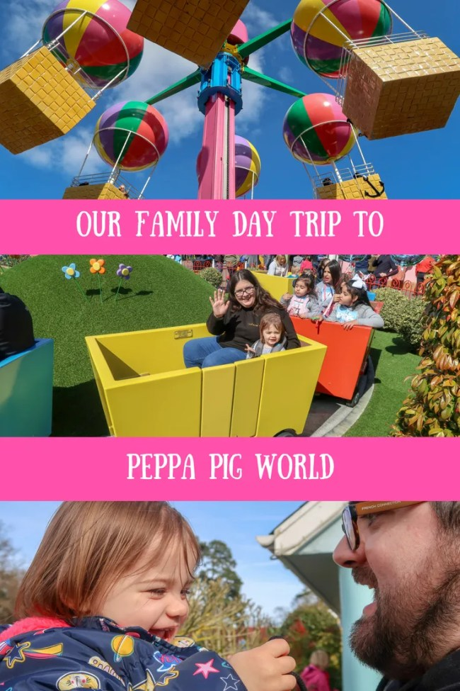 (AD) Our family day out to Peppa Pig World in Southampton at Paulton's Park. We saw Peppa Pig characters, saw the ducks, went on rides in the theme park and much more