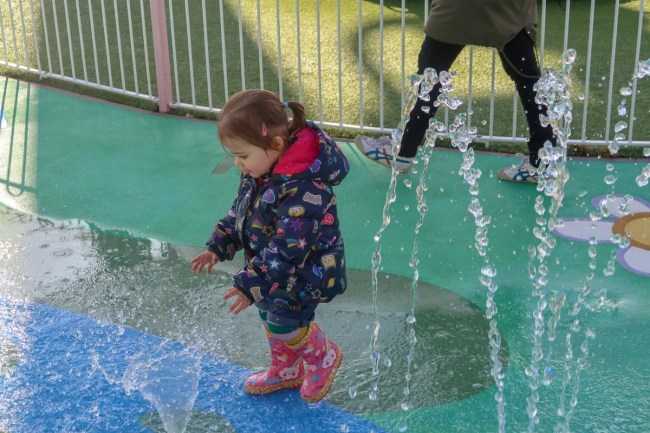 Peppa Pig water fountains