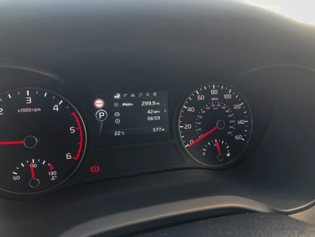 Kia Optima Sportswagon - Drivers Dash