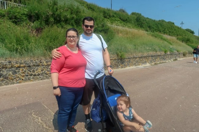 A trip to Clacton-On-Sea - Family time