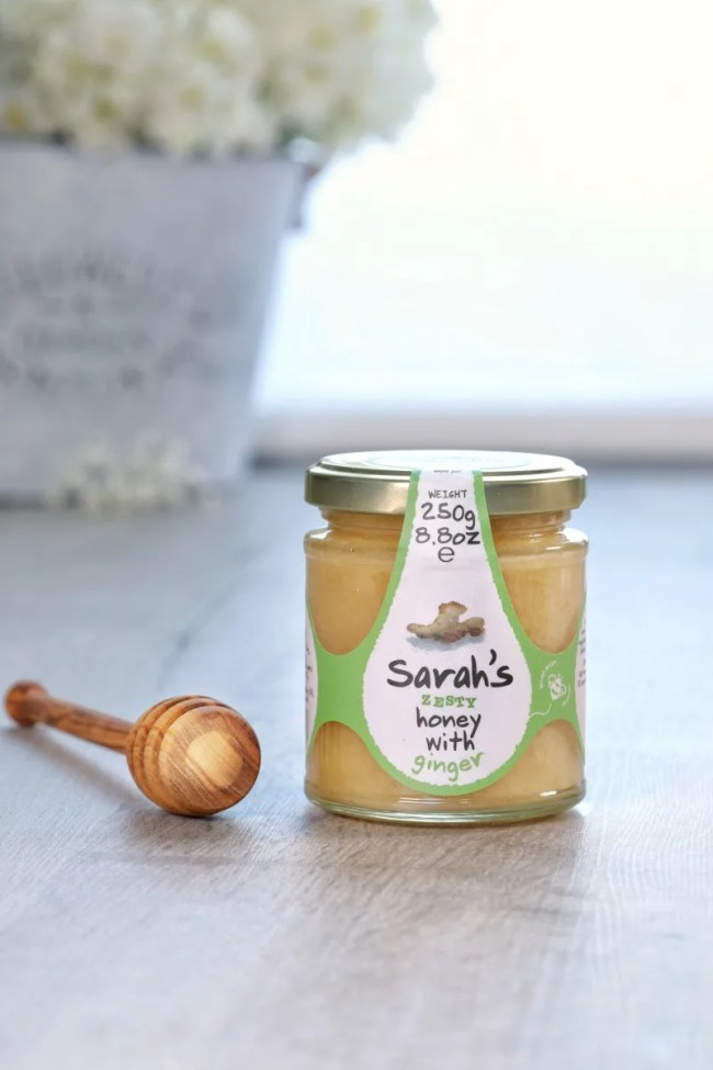 Great gifts for the foodie in your life - Sarah's Honey with Ginger
