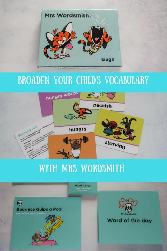 (AD) Broaden your child's vocabulary with Mrs Wordsmith and The Social Journey. #parenting #learning #education #vocabulary #homeed