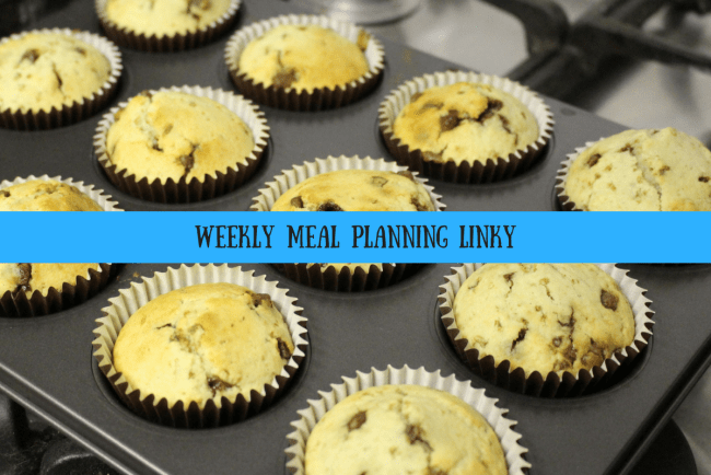 Katykickers weekly meal planning linky