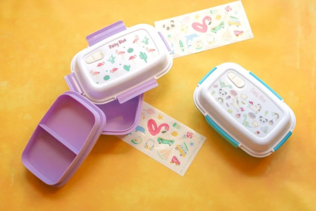 Personalised lunch box from Petit-Fernand - A look at the two lunchboxes