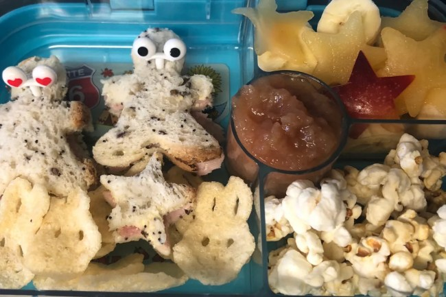 40 great ideas for your Yumbox - a look at one of the Yumboxes I have made for Daisy