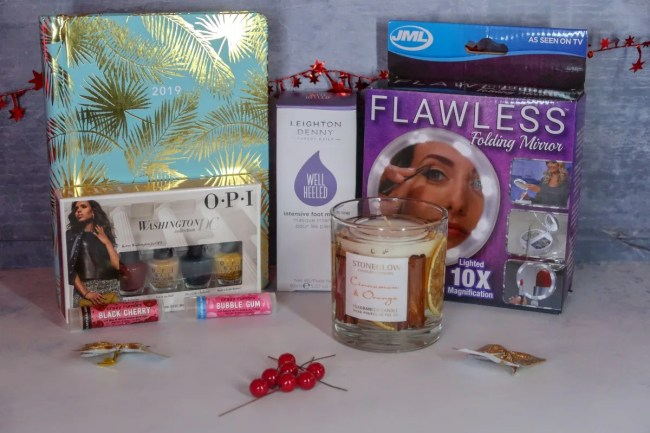 2018 Christmas Gift Guide for Parents Leighton Denny, Flawless Mirror, Cinnamon candle
