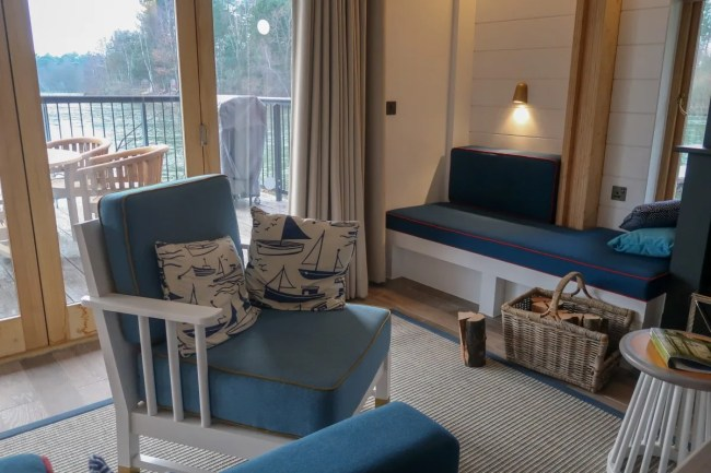 Centerparcs Waterside Lodge Review - More seating