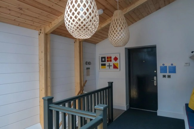 Centerparcs Waterside Lodge Review - The upstairs hallway