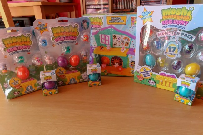 Moshi Monsters Egg Hunt Collection