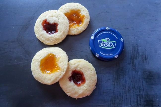 Gluten-free jam drops AllergyFreeDay