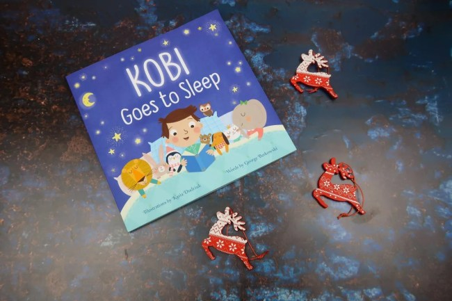 Christmas gifts for children - Goes to sleep book