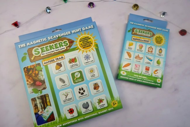 Christmas gifts for children - Seekers Games