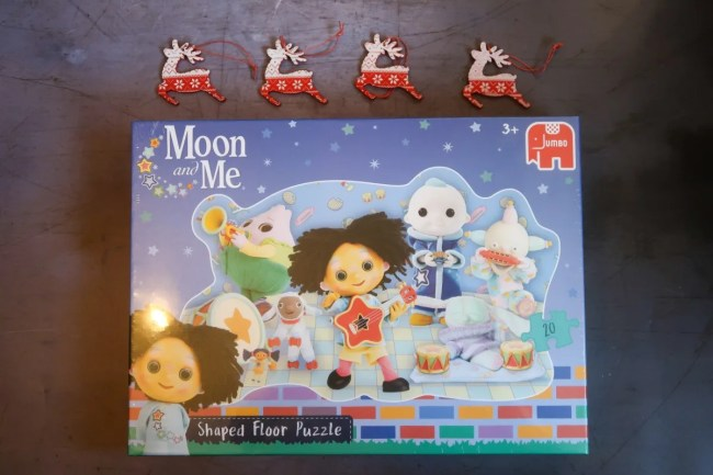 Moon and Me Shaped Floor Puzzle