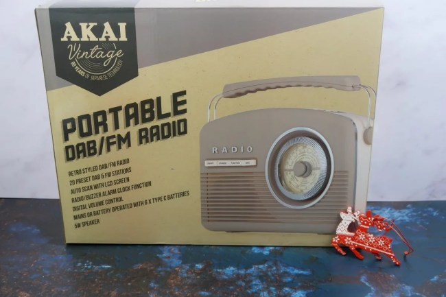 New home Christmas Gift Guide for 2019 - Akai DAB Radio