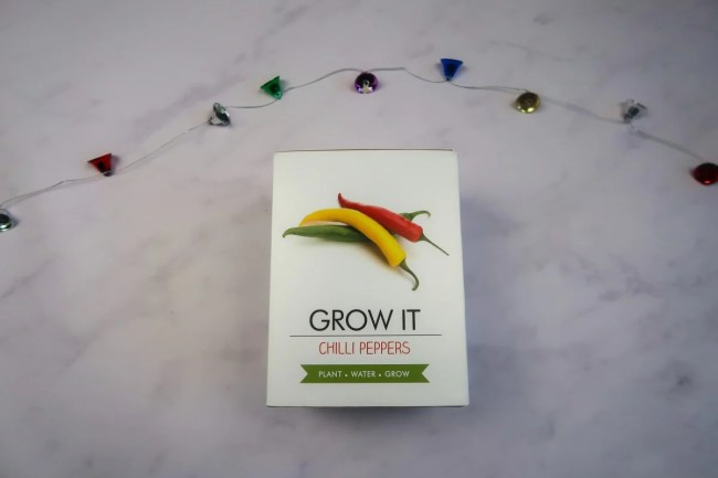 New home Christmas Gift Guide for 2019 - Chilli Growing Kit