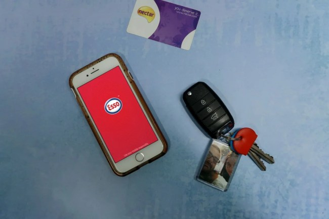 Saving time on the top-up shop with Esso