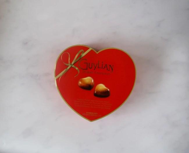 Guylian chocolates - heart shaped