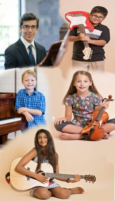 Students who enjoy taking music lessons at The Conservatory of Music at North Katy