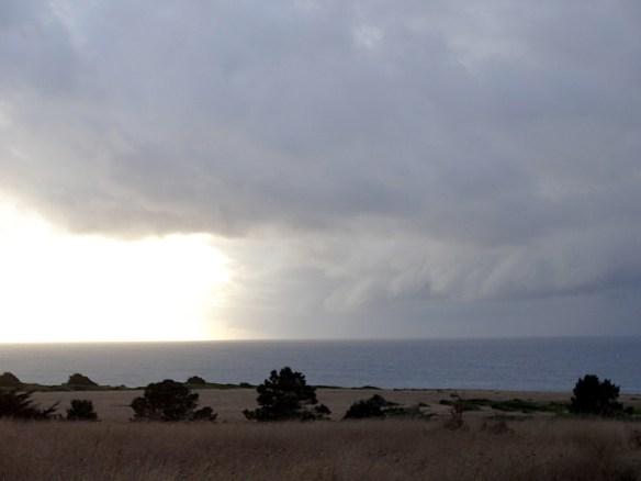Storm of headlands
