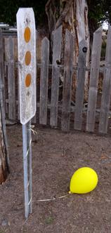 open house balloon left behind