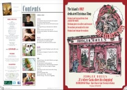 Jingle Bells advert featured in Style of Wight Issue 13: November/December 2011. Hand drawn illustrations commissioned for a Christmas themed boutique.