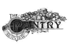 I was recently commissioned by The Pantry to create a hand drawn logo and illustrated chalkboards for this exciting new restaurant in Seaview! Their branding was inspired by traditional Victorian posters and ornate typography design.