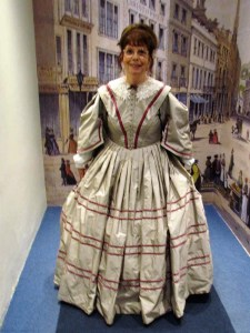 Katy Walters in a Regency Dress - Bath