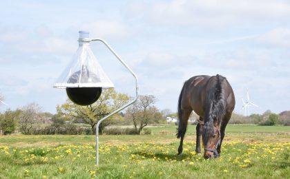 Pferdebesitzer können ein Lied davon singen, wie lästig Bremsen sind. Mit einer speziellen Falle kann man die Insekten giftfrei und nachhaltig bekämpfen.