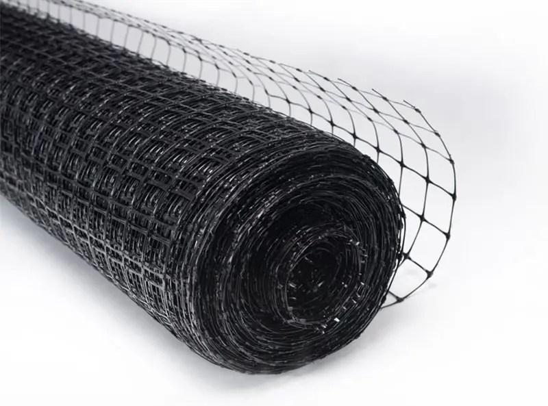 Kunststoff Katzennetz, Kunststoff Netzgitterschwarz