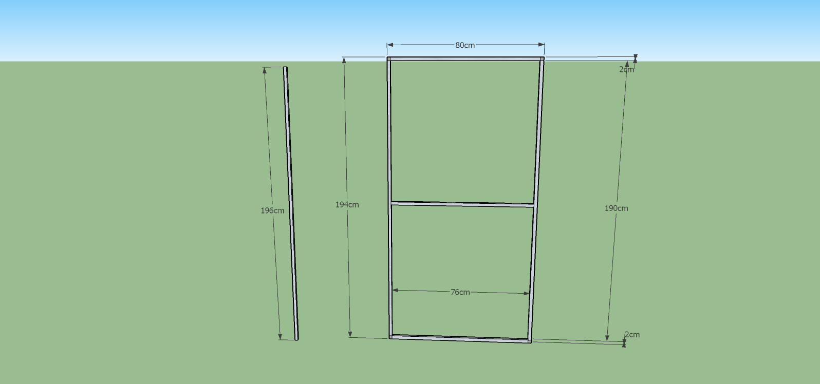 Türelement Bausatz Katzennetz