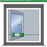 Katzennetz Fenster breite messen