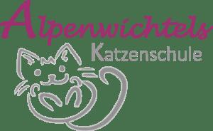 Logo Alpenwichtels KATZENSCHULE
