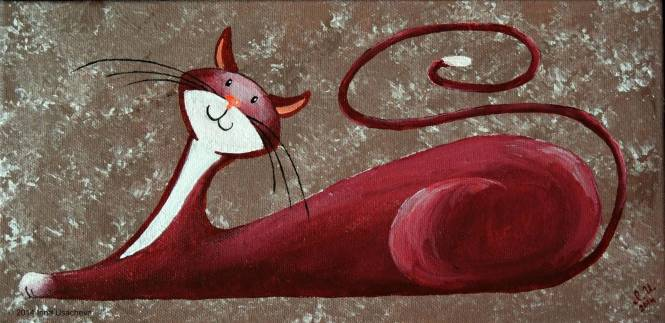 cat art 4