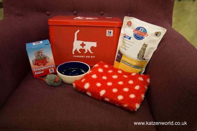 Purrrst Aid Kit