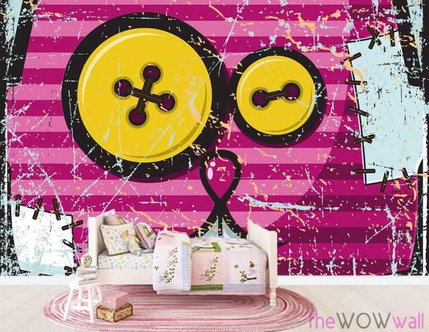 pink-cat-wall-mural-2