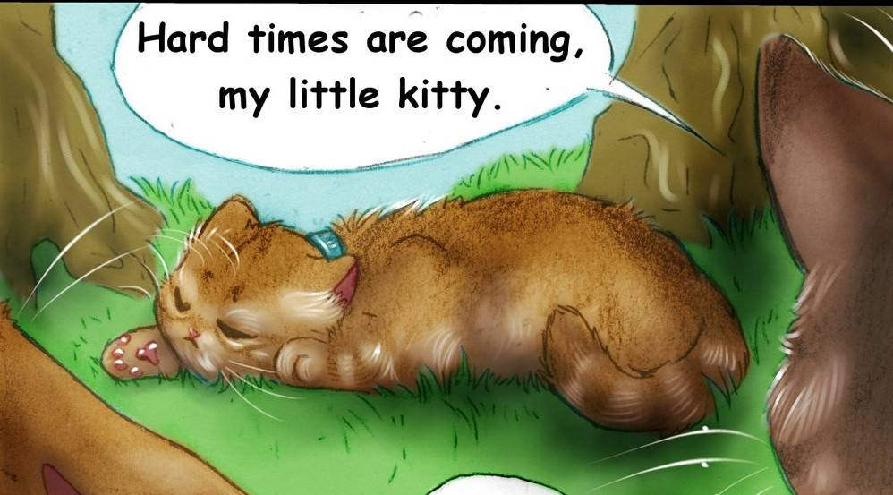 Two Red Cats 17 – Hard Times