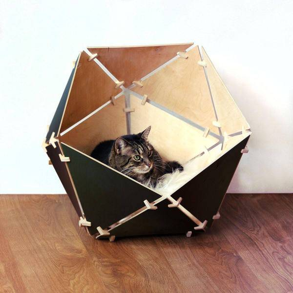 Tuft paw cat furniture design competition your chance for Designer cat beds uk