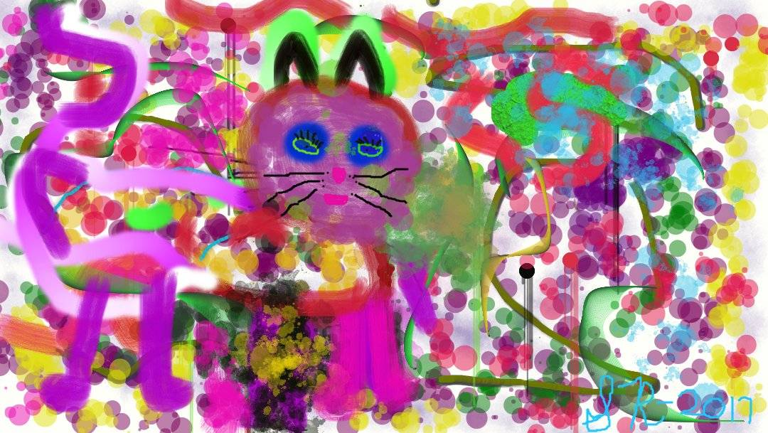 Friday Art Cat: Pop Art by Samantha Ryan