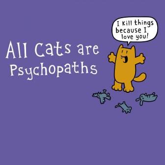 psychopath cat