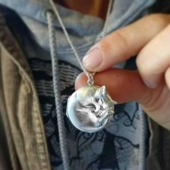 Cat lockey by Jana Reinhardt