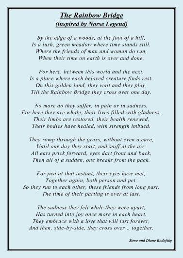 Rainbowbridge poem