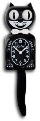 Image result for kit cat clock