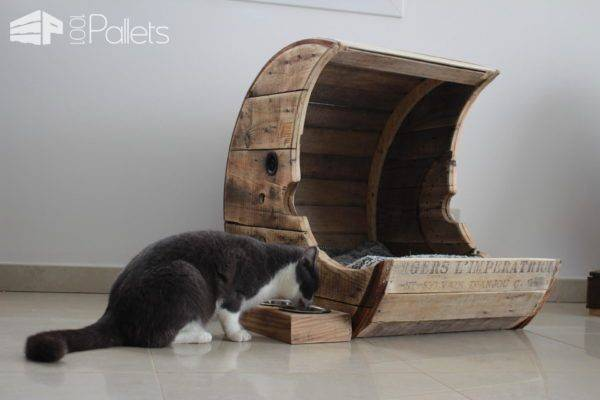 Save Money: Build Cat-Focused Furniture Using Upcycled Pallets